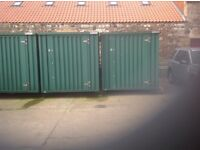 Storage Containers for let, approx 1 mile from Cupar