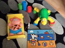Topsy Turtle, My First Operation and wooden Maisy jigsaw