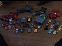 Selection on Cars from the movie Cars 1 & 2