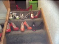 Brand new size five heels
