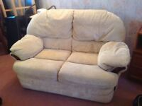 2x2 seater sofas and 2matching arm chairs