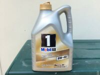 Mobil 1 New Life 0W-40 Fully Synthetic Engine Oil 4 ltrs