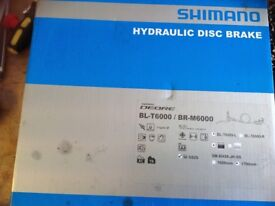 Shimano Deore hydraulic disc brakes brand new boxed