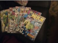 The Incredible Hulk 34 issues in excellent condition