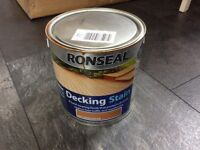 Ronseal Decking Stain Golden Cedar 2.5L
