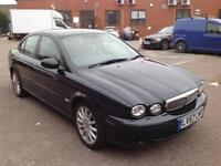 2007 Jaguar X Type Diesel Good Condition with history and mot