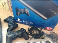 Playstation 3 .Excelent condition £80 500GB