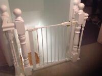Lindam White stair gate