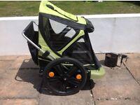 Bellelli double/twin bike taxi child trailer