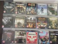 playstation 3 and 49 games plus extras