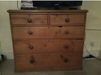 Large Victorian Chest of Draws