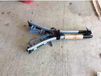 Decathalon tow bar bike rack for three bikes