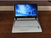 HP Pavillion Notebook 15, white, in excellent condition