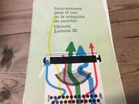 Olivetti Lettera 22.