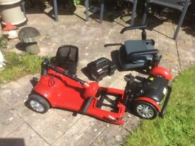LIGHTWEIGHT Mobility Scooter, IDEAL FOR HOLIDAYS, AIRPLANES, BUS, CAR BOOT.