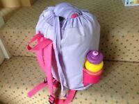 Dora the Explorer Sleeping Bag and Lunch/Cool Bag (Toys, Lego, Minion, Peppa Pig, Barbie, Disney)