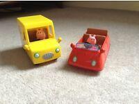 Peppa Pig Car and Supermarket Delivery Van