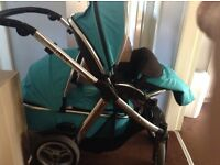 Oyster travel stytem with buggy board all excellent condition