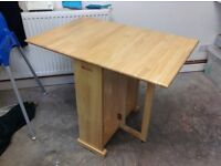 Kitchen Table - wooden gate leg table from John Lewis