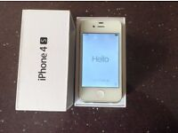 Iphone 4S. White. 16Gb Unlocked. Working but needs repair