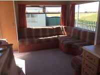 6 birth caravan rent /hire in shoreline burry port which next to beach