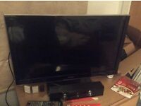 "32"" panasonic viera led tv, full hd 1080p, hdmi, freeview hd, like new, quick sale available"