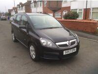 2008 Vauxhall zafira 1.6 ,5dr estate petrol manual 1 owner 48000 miles 7 seater full history £2295