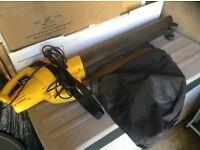 Garden leaf vacuum/blower