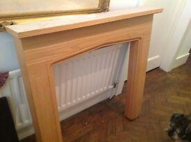 Wooden fireplace brand new Best Offer