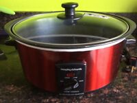 Murphy Richards Slow Cooker (red)