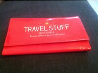 Travel and document wallet by a Happy Jackson brand new