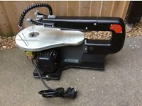 AS NEW RHYAS BENCH SCROLL / FRET / MITRE SAW