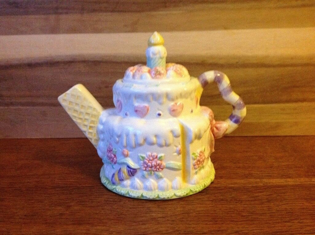 Miraculous Novelty Birthday Cake Teapot Collection Item In Filton Bristol Personalised Birthday Cards Cominlily Jamesorg