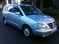 SSANGYONG RODIUS 270 DIESEL 2.7 S EDITION, 7 SEATS, AUTOMATIC, FULLY LOADED, LOW MILEAGE, BARGAIN