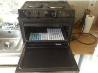 Baby Belling twin hob grill/oven suit cafe burger van takeaway fast food sold as seen