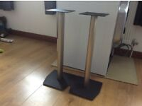 Surround system speaker stands