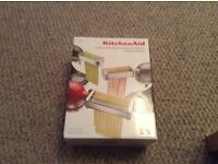 KitchenAid, pasta and cutter set. Brand new and unopened!