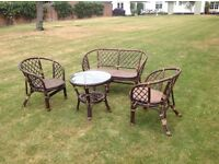 Rattan Funiture ( conservatory / under awning )