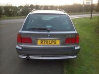 Beautiful top of the range BMW 528i SE Auto Touring Estate FSH in excellent condition throughout.