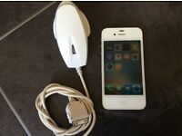 Apple iPhone 4S EE/Virgin 16gb white great condition