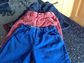 Boys shorts 3 pairs. Age 8to9. Good condition