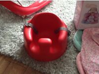 Red Baby Bumbo Seat