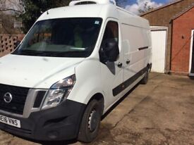 Refrigerated with standby Nissan, NV400, Panel Van, 2016, Manual, 2298 (cc)