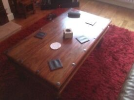 Coffee table and matching nest of tables