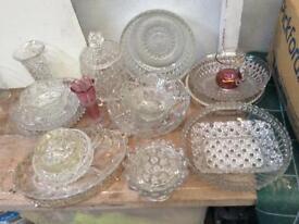 Glassware.