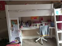 Bunk Bed with Desk (Aspace)