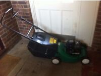 SOVEREIGN PETROL LAWNMOWER £65.00
