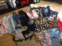 Small bundle of girls clothes, age 10/12 Next, River Island, John Lewis + other