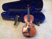 Student stentor violin 1/2 size