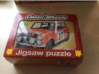 CLASSIC WHEELS JIGSAW PUZZLES IN TINS